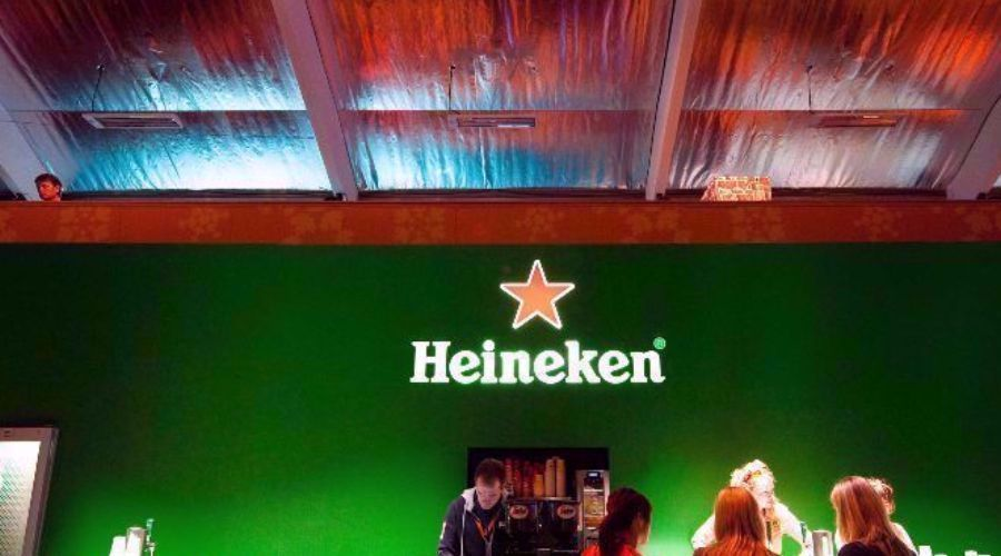 Heineken it is!